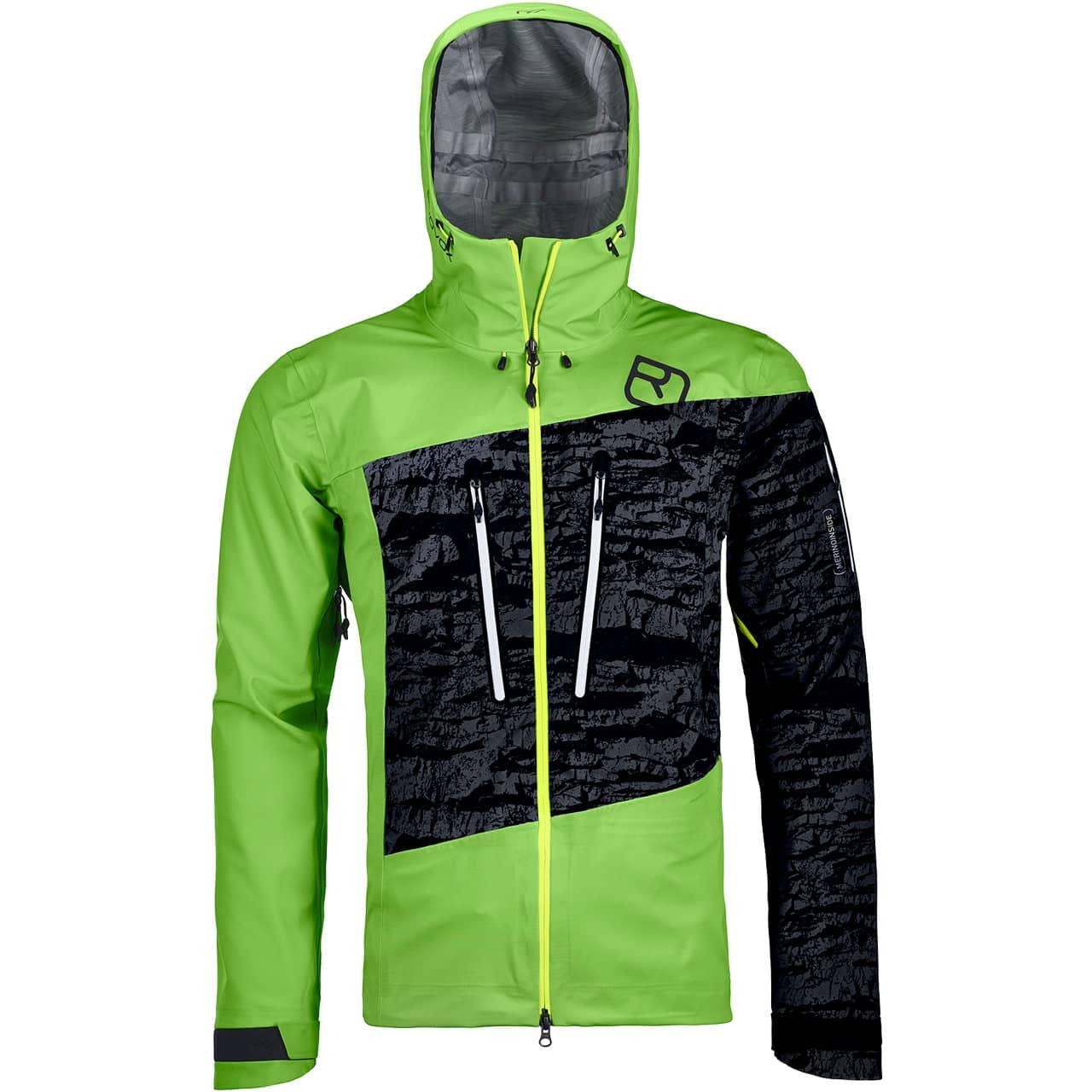 Ortovox Men Jacket GUARDIAN SHELL matcha green