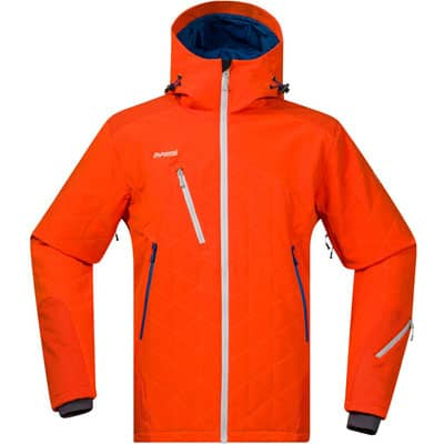 Bergans Kongsberg Men insulated jacket orange 2016/2017