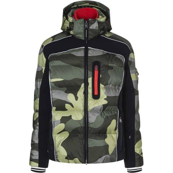 Bogner Men Team Down Jacket JAY green camouflage